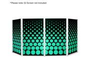 Equinox DJ Screen Circle Design Lycra (4 Pack)