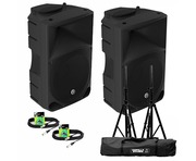 Mackie Thump 15 (Pair) with GSS-Kit and Cables Package