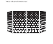 Equinox DJ Screen Heart Design Lycra (4 Pack)