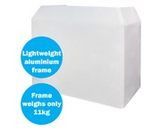 Equinox Aluminium Lightweight DJ Booth System
