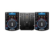 Numark NDX500 & Numark M2 Mixer Package