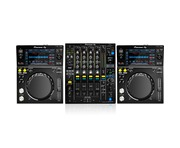 Pioneer XDJ-700 and DJM-900NSX2 Package