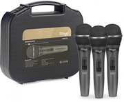 Stagg SDMP15-3 Set of 3 Dynamic Handheld Vocal Microphones