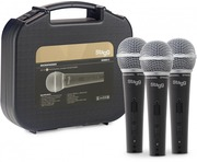 Stagg SDM50 Set of 3 Dynamic Handheld Vocal Microphone