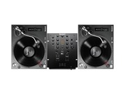 Numark TT250 USB Turntables & Numark M2 Mixer Package