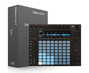 Ableton Push 2 with Ableton Live 9 Suite Edition UPG from Live Intro