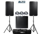 Alto 2x TS215 Speakers & 1x TS215S Sub Package