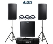 Alto 2x TS210 Speakers & 1x TS215S Sub Package