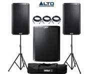 Alto 2x TS215 Speakers & 1x TS218S Sub Package