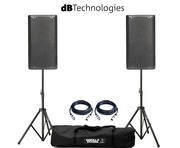 dB Technologies Opera 10 Pair with Stands and Cables