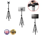 "Gorilla GTV-100 Portable Tripod TV Floor Stand for 17""-37"" Screens"
