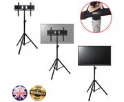 """Gorilla GTV-200 Portable Tripod TV Floor Stand for 37"""" to 51"""" LCD/LED"""