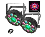 Chauvet FXPar 9 (Pair) & Cable