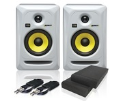 KRK Rokit RP5 G3 W & Isolation Pads & Cables