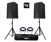 Electro-Voice EKX-12P with Stands & Cables