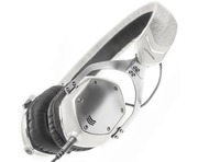 V-Moda XS White Silver Headphones
