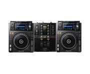 Pioneer DJ XDJ-1000 MK2 & DJM-250MK2 Package