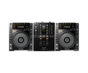 Pioneer CDJ850 Black & DJM-250MK2 Package