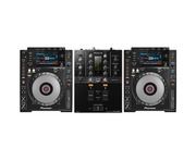 Pioneer CDJ900 Nexus & DJM-250MK2 Package