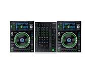 Denon SC5000 (Pair) &  X1800 Mixer