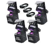 4x Equinox Fusion Roller MAX & Cables