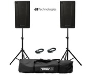 db Technologies B-Hype 8 (Pair) with Stands & Cables