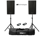 db Technologies B-Hype 10 (Pair) with Stands & Cables