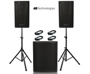 db Technologies B-Hype 12 (Pair) with Sub 618