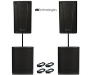 2x db Technologies B-Hype 15 & 2x Sub 615 Package