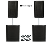 2x db Technologies B-Hype 15 & 2x Sub 618 Package