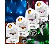 Equinox Fusion 100 Spot MKII White (x4) & Cables