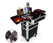 Gorilla 3-in-1 Trolley Tool Case with Wheels & Handle