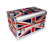 Gorilla Tool Box Carry Case inc Strap & Handle (Union Jack)