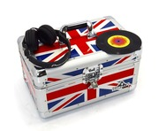 "Gorilla 200pcs 7"" Singles Vinyl Flight Storage Case (Union Jack)"