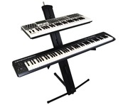 Gorilla GKS-2 High-End 2 Tier Column Keyboard Piano Stand