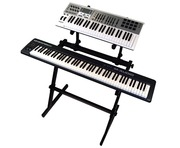 Gorilla GKS-500 Two Tier Keyboard / Piano Stand Workstation
