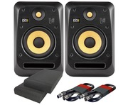 KRK V6S4 (Pair) with Pads & Cables