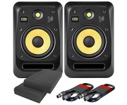 KRK V8S4 (Pair) with Pads & Cables