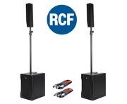 RCF Evox 8 (Pair) PA Speaker Package