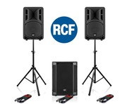 RCF Art 310-A MK4 Speaker (Pair) with SUB 702AS II