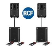 RCF Art 310-A MK4 Speaker (Pair) & RCF SUB 702AS II (Pair)