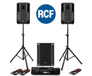 RCF Art 710-A MK4 PA Speaker (Pair) + RCF Sub 705-AS II Sub