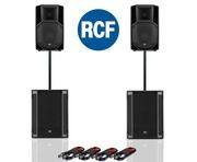 RCF Art 712-A MK4 PA Speaker (Pair) & RCF Sub 705-AS II (Pair)