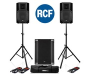 RCF Art 712-A MK4 PA Speaker (Pair) & RCF Sub 708-AS II Sub