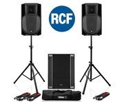 RCF Art 715-A MK4 PA Speaker (Pair) + RCF Sub 708-AS II