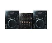 Pioneer CDJ350 & DJM-750 MK2 Package
