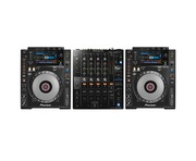 Pioneer CDJ 900 Nexus & DJM-750 MK2 Package
