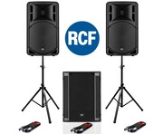 RCF Art 315-A MK4 Speaker (Pair) with RCF SUB 705-AS II