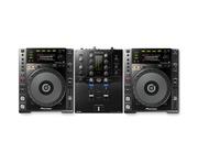 Pioneer CDJ850 Black & Pioneer DJM-S3 Package