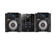 Pioneer CDJ900 Nexus & DJM-S3 Package